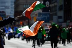 Toronto's annual St. Patrick's Day parade Royalty Free Stock Image