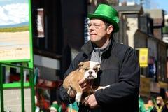 Toronto's annual St. Patrick's Day parade Stock Image