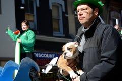 Toronto's annual St. Patrick's Day parade Royalty Free Stock Image