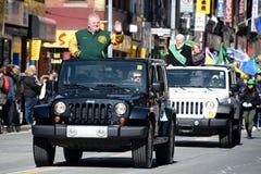 Torontos annual St. Patrick's Day parade Stock Photo
