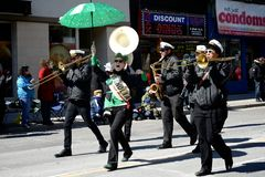 Toronto's annual St. Patrick's Day parade Royalty Free Stock Photography