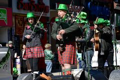 Toronto's annual St. Patrick's Day parade Royalty Free Stock Images