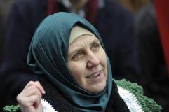 Rassemblement pour marquer 2 ans de révolution syrienne à Toronto Images stock