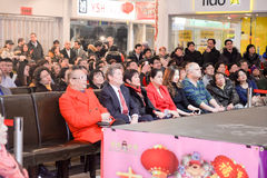 Toronto mayor John Tory attends Chinese New Year event royalty free stock photography