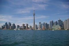 Toronto miasta linia horyzontu Zdjęcia Royalty Free