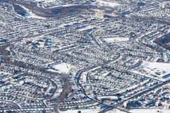 Toronto Midtown Winter Stock Photography