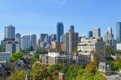 Toronto mieszkania własnościowego budynki fotografia stock