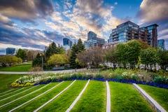 Toronto muzyki ogród przy Harbourfront w Toronto, Ontari Obrazy Stock