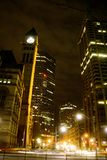 Toronto na noite foto de stock royalty free