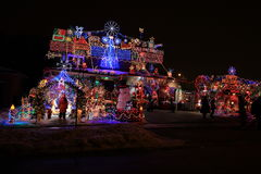 Toronto-Nacht Lizenzfreies Stockbild
