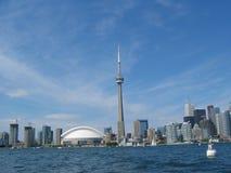 Toronto nadbrzeża skyline Zdjęcie Stock