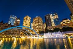 Toronto Nathan Phillips Square Ontario Canada Van de binnenstad 150! Stock Afbeeldingen