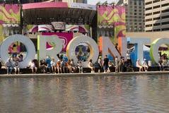 Toronto niecka Am 2015 Fotografia Royalty Free