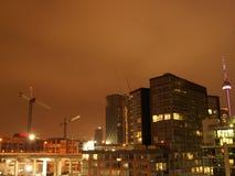 Toronto At Night Royalty Free Stock Photo