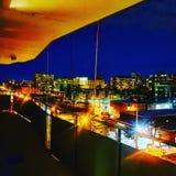 Toronto night life stock photography