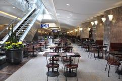 Toronto, o 24 de junho: Comendo a zona dentro do lugar de Brookfield em Toronto da província Canadá de Ontário Fotografia de Stock