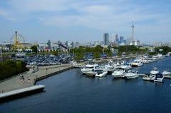 Toronto łodzi Zdjęcia Royalty Free