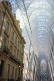 Toronto Old & New. View inside BCE Place in Toronto showing the inclusion of an old bank building with the new atrium design stock photography