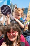Thousands Protest Education Cuts by the Conservative Government stock images