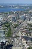 Toronto, Ontario, Canada from CN Tower Royalty Free Stock Photos