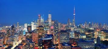 Toronto półmrok zdjęcia stock