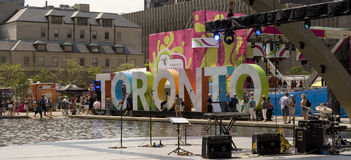 Toronto Pan Am 2015 Fotografie Stock
