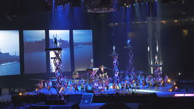Toronto 2015 Pan American Games Opening Ceremony stock video footage
