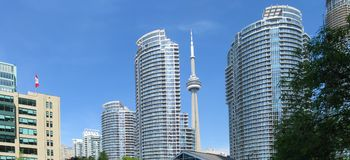 Toronto panorama Stock Photo