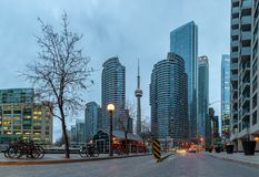 Toronto panoramy śródmieście VII fotografia royalty free