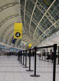 Toronto Pearson Airport Terminal imagen de archivo libre de regalías