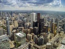 Toronto pejzaż miejski i biznesowy centre zdjęcie royalty free