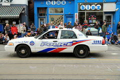 Toronto Police Car Stock Photo