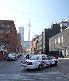 Toronto Police Car stock photos