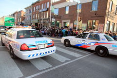 Toronto Police Cars royalty free stock photo