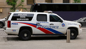 Toronto Police Dog Services Royalty Free Stock Image