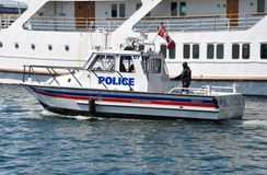 Toronto Police Marine Unit Stock Images