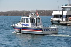 Toronto Police Marine Unit Royalty Free Stock Image