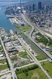 Toronto Port Lands Stock Photo