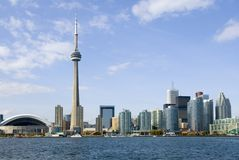 Toronto-Postkarte Lizenzfreies Stockbild