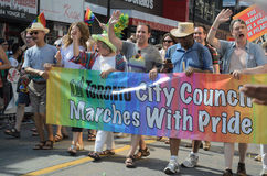 Toronto Pride Parade 2014 Images stock