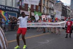 Toronto Pride Parade 2016 Immagini Stock