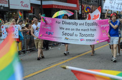 Toronto Pride Parade 2014 Royalty Free Stock Photography