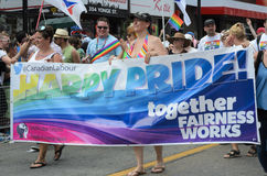 Toronto Pride Parade 2014 Stock Photography