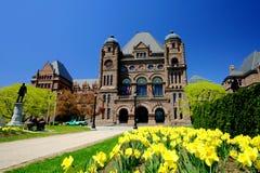 Toronto in primavera Fotografia Stock Libera da Diritti