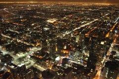 Toronto przy nocą zdjęcie stock