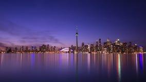 Toronto przy nocą Obraz Stock