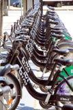 Toronto Public Bikes Royalty Free Stock Image