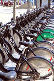 Toronto Public Bikes Royalty Free Stock Images