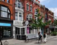 Toronto, Queen Street West Royalty Free Stock Images