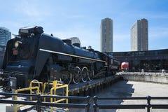 Toronto railway museum Stock Photo